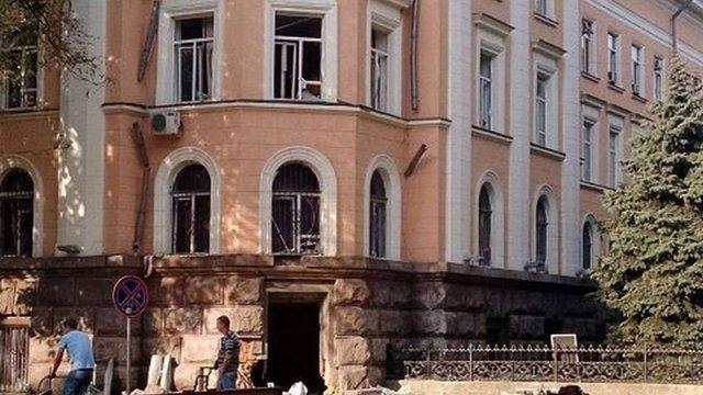 Підозрюваних в організації вибуху біля будівлі СБУ в Одесі заарештували на 60 діб