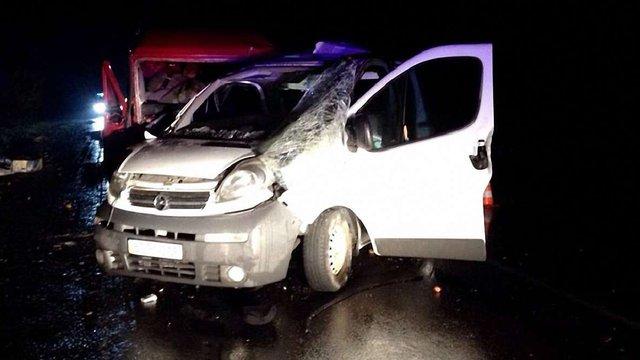В аварії на Львівщині одна людина загинула, четверо травмувалися