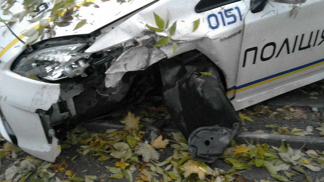 Патрульні поліцейські у Львові потрапили у серйозне ДТП