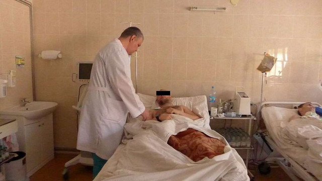 У дніпропетровську лікарню доставили трьох важкопоранених бійців АТО
