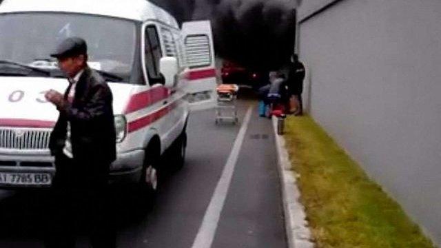 Біля аеропорту «Бориспіль» сталося смертельне ДТП (відео)