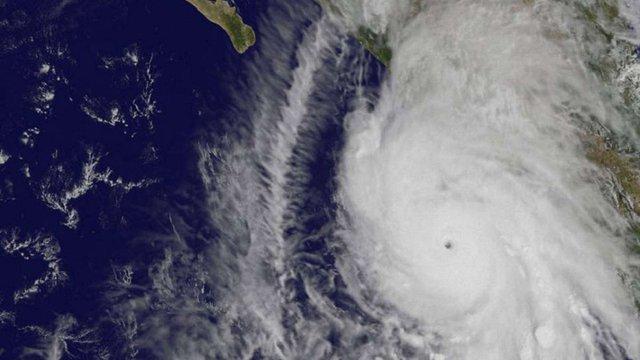 NASA зняло з космосу найпотужніший ураган «Патрисія»