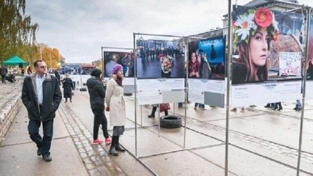 В Латвії знову відкрили виставку про Майдан