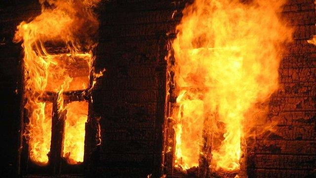 На Львівщині у власному будинку згорів чоловік