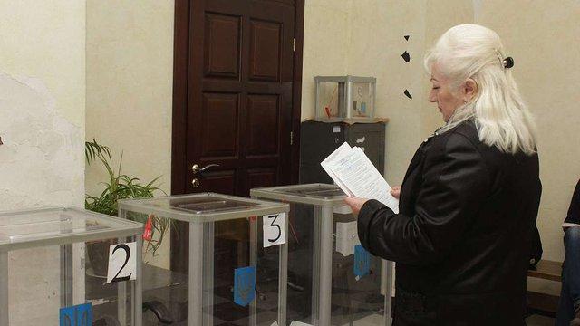 Станом на 16:00 у Львові проголосували 34% виборців