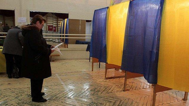 Явка виборців на Львівщині на кінець голосування становила 55%