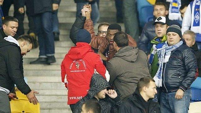 FARE зафіксувала прояви расизму і нацизму під час матчу «Динамо» - «Челсі»