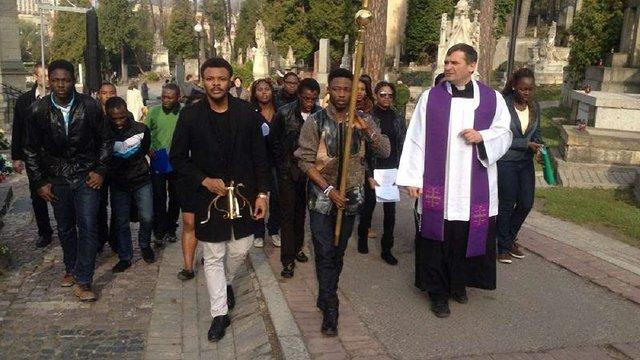 Студенти із країн Африки помоляться у Львові за померлих