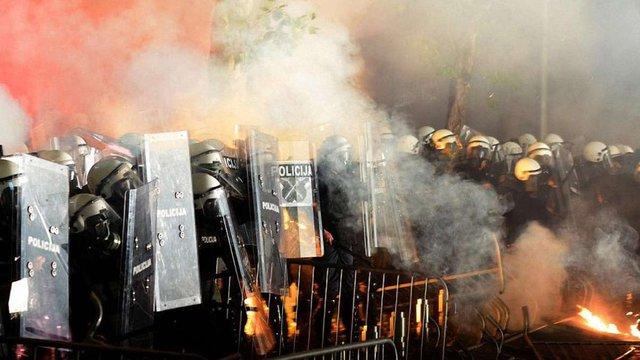 Чорногорія звинуватила Кремль в причетності до акцій протесту