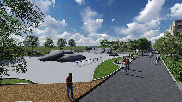Скейт-парк на вул. Б.Хмельницького облаштують львівські райдери