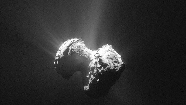 На кометі Чурюмова-Герасименко космічний апарат «Розетта» виявив молекули кисню