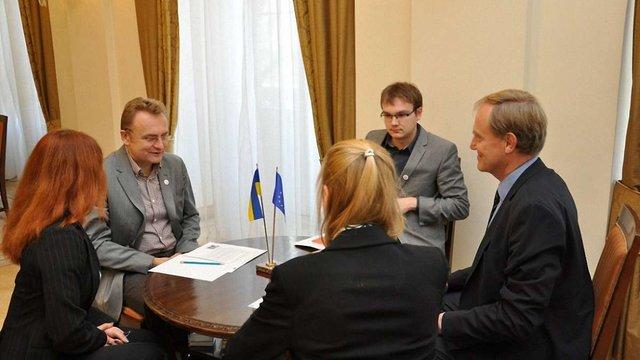 До Львова приїхав представник Європейського Союзу