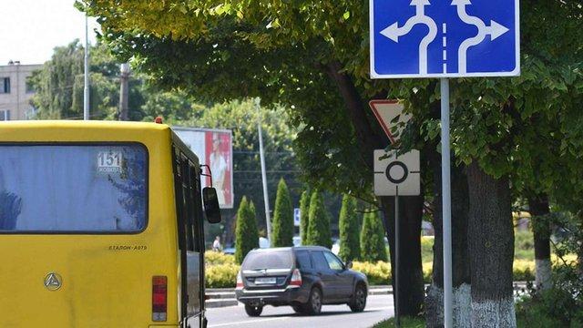 У Львові планують змінити дорожній рух на трьох кільцевих перехрестях