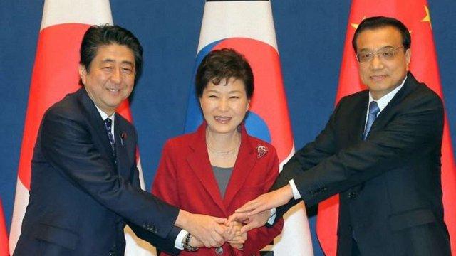 Південна Корея, Японія та Китай повністю відновили співпрацю між країнами