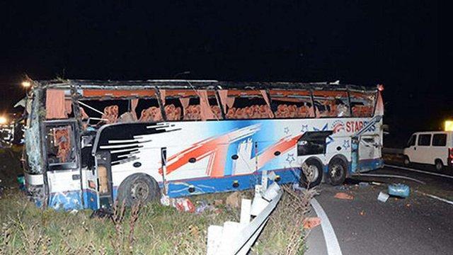 Автобус з українцями злетів з автобану біля Відня