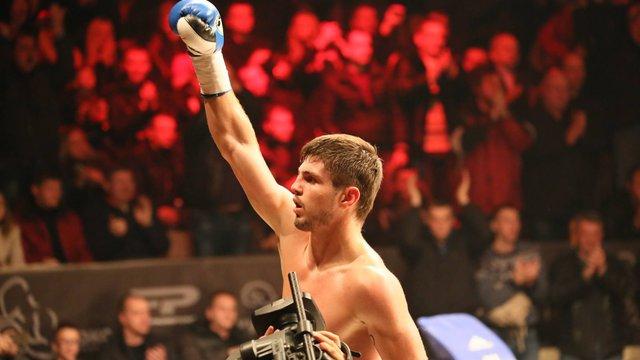 Український боксер Євген Хитров завоював перший пояс чемпіона