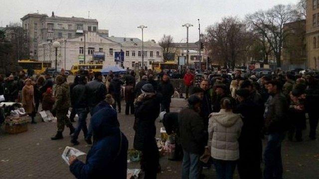 Прихильники Корбана збирають мітинг біля Верховної Ради