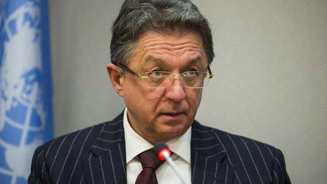 Звільнили постійного представника України в ООН Юрія Сергеєва