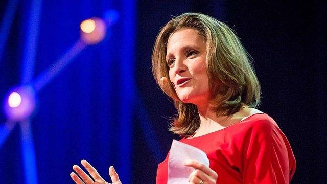 Канадійка українського походження стала міністром міжнародної торгівлі Канади