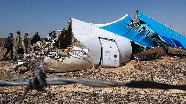 Розвідка США вважає причиною катастрофи літака A321 вибух бомби «ІД»