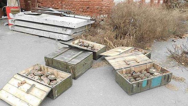 У Сватовому знайшли 171 протитанкову міну в закинутій будівлі