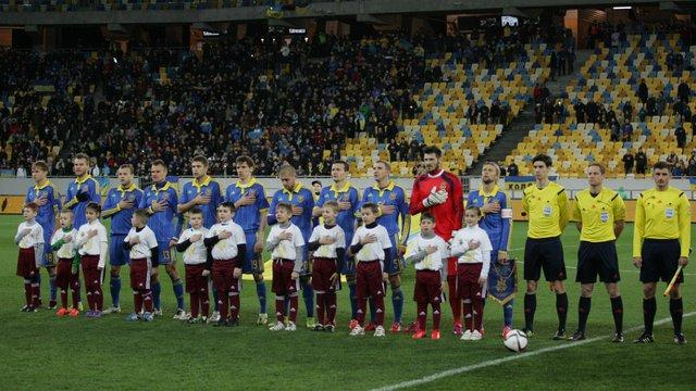 Збірна України втратила чотири позиції у рейтингу ФІФА