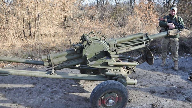 Військові ЗСУ завершили відведення мінометів калібром 82 мм