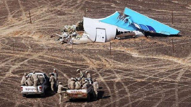 Оприлюднено попередній аналіз даних «чорних скриньок» літака А321, який розбився у Єгипті