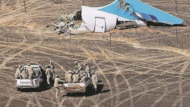 Єгипетські слідчі на 90% впевнені у вибуху бомби на борту російського літака A321