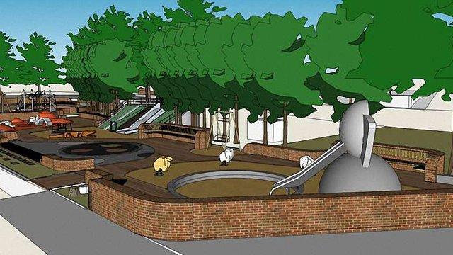 Реконструкція дитячого майданчика біля Львівського цирку почнеться навесні 2016 року