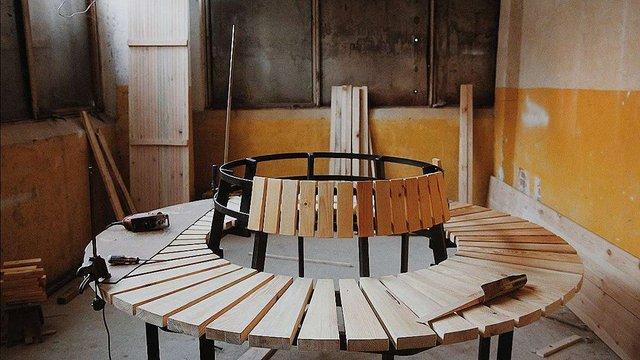 У сквері Гідності облаштують понад 300 місць для сидіння