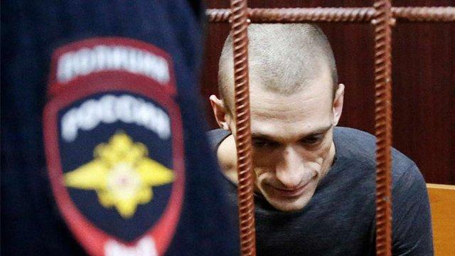 У Москві за підпал дверей ФСБ художника заарештували до 8 грудня