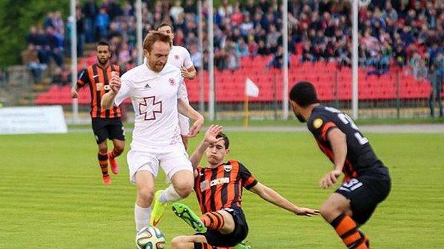 «Шахтар» зіграє домашній матч з «Волинню» у Запоріжжі