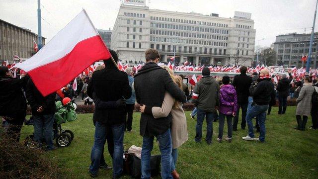 У Варшаві відбувся багатотисячний Марш націоналістів