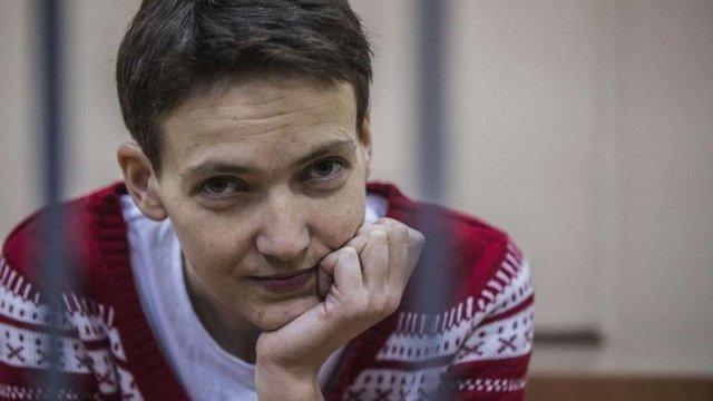Надія Савченко перекладає свою книгу російською