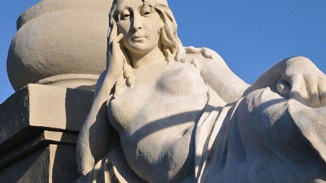 У Львові відреставрували скульптуру будинку на вул. Коновальця
