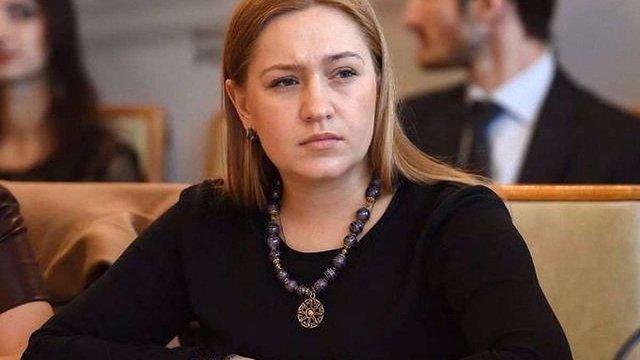 Оксана Юринець закликала львів'ян підтримати Андрія Садового на виборах мера