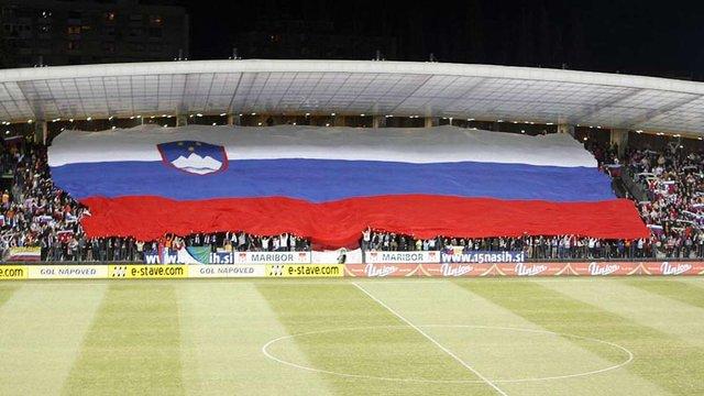 Львівських вболівальників закликали не плутати прапор Словенії та Росії