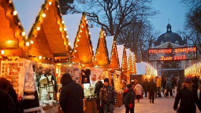 Різдвяний ярмарок у Львові працюватиме майже місяць