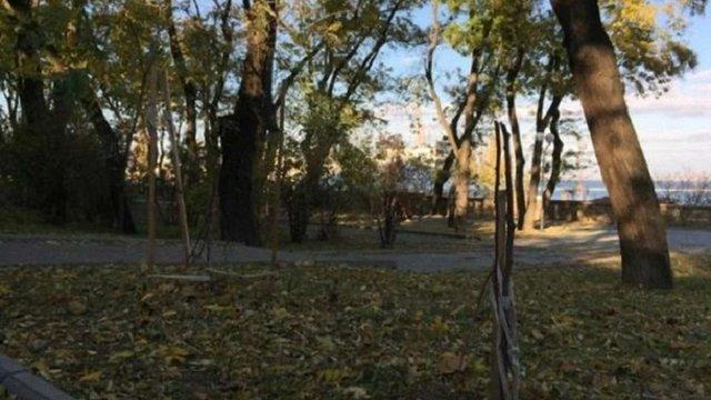 В Одесі невідомі понищили дерева, посаджені на честь Небесної сотні (відео)