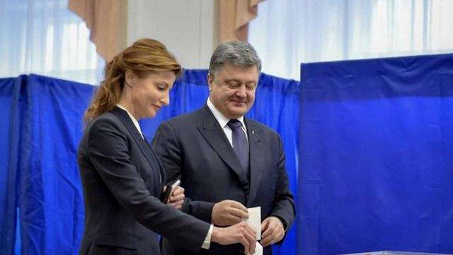 Президент закликав українців активніше голосувати на місцевих виборах