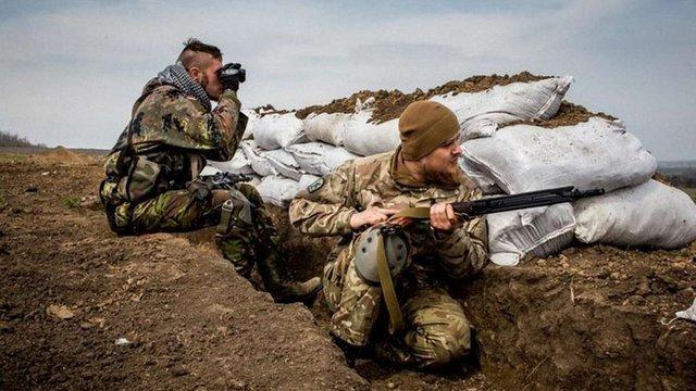 Лікарі повідомили про загибель 15 військових у зоні АТО 7 листопада