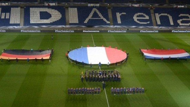 Футбольний матч Німеччина - Нідерланди скасували через підозрілий предмет на стадіоні