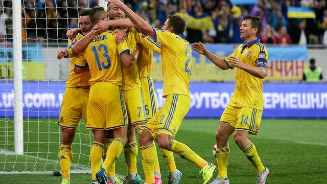 Збірна України вийшла на Євро-2016