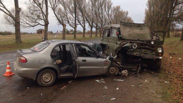 У Жовківському районі в ДТП травмувалися п'ятеро людей