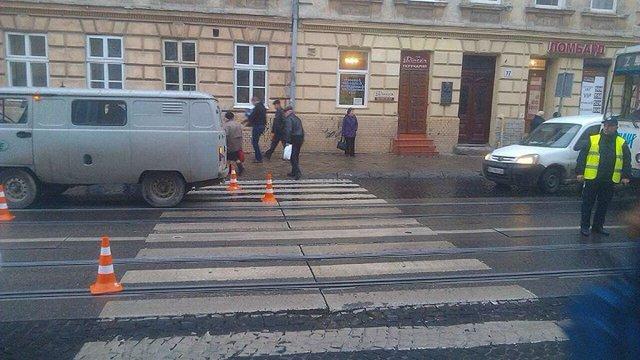 У Львові на пішохідному переході збили 58-річного чоловіка
