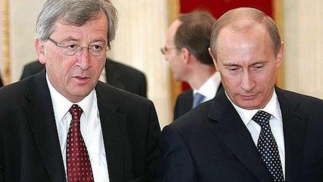 Юнкер запропонував Путіну торговельні перспективи за виконання мінських угод