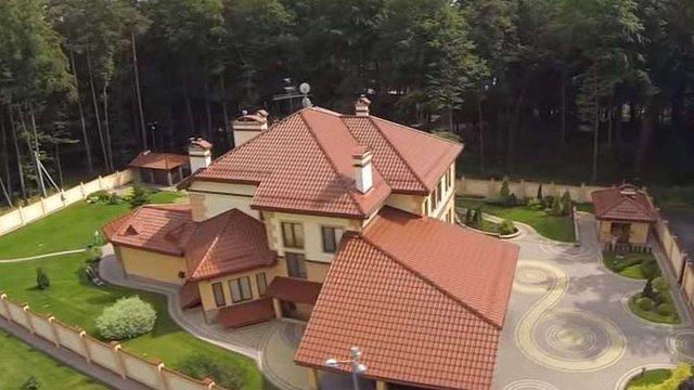 Журналісти показали з квадрокоптера будинок Пісного та його доньки