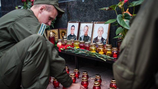 Львів'яни вшанували пам'ять загиблих під час Революції Гідності та АТО