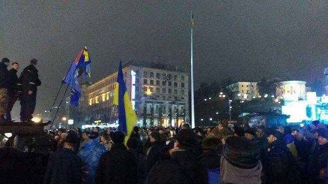 На церемонії вшанування Небесної сотні натовп освистав Порошенка і зірвав концерт
